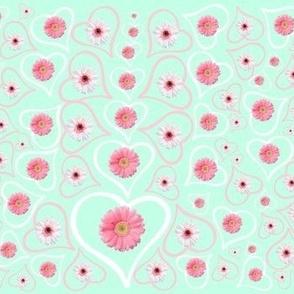 Flower Heart Drops