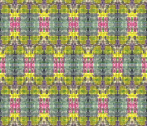 pixelsucculent fabric by sára_emami on Spoonflower - custom fabric