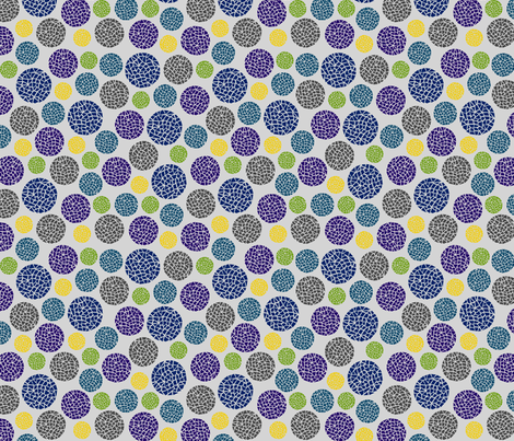 Crackle Dots fabric by modgeek on Spoonflower - custom fabric