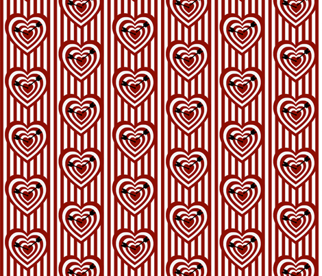 Bullseye fabric by whimzwhirled on Spoonflower - custom fabric