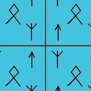 Runes o'mine-blue