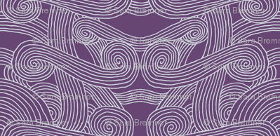 Tali'Zorah Hood Fabric