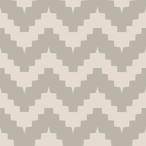 chevron greige fabric by ravynka on Spoonflower - custom fabric
