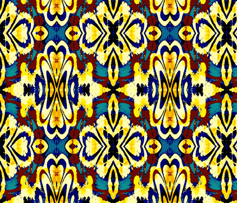 Antique carpet fabric by abstract_design on Spoonflower - custom fabric