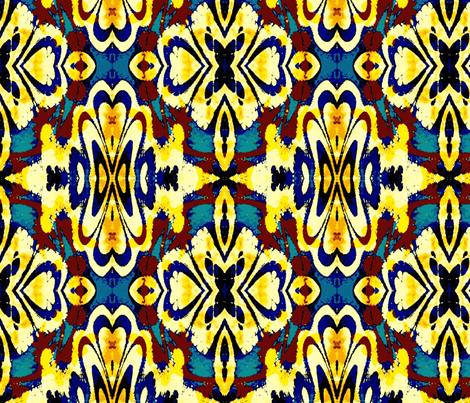 Antique carpet fabric by mihaela_zaharia on Spoonflower - custom fabric