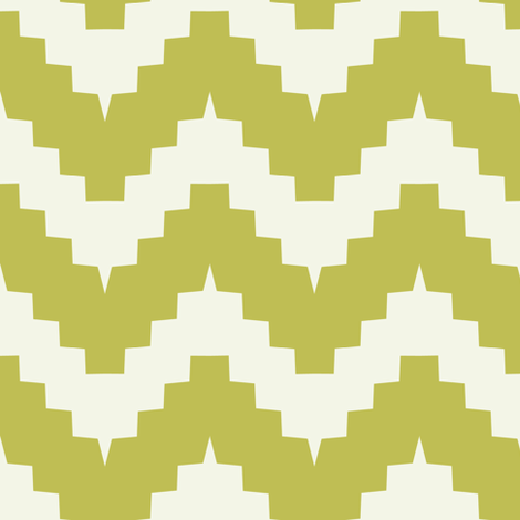 chevronolive fabric by ravynka on Spoonflower - custom fabric