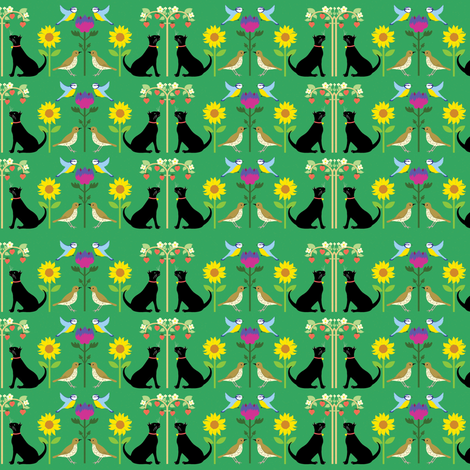 cardmaking_cat_pattern fabric by vickyscott on Spoonflower - custom fabric