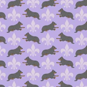 Noble Beaucerons - lavender