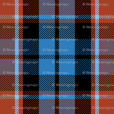 Graham of Menteith tartan (red variation, ancient colors)