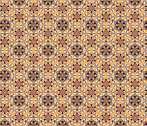 Maroccan heat fabric by andrea11 on Spoonflower - custom fabric