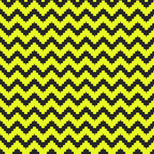 chevron black and yellow