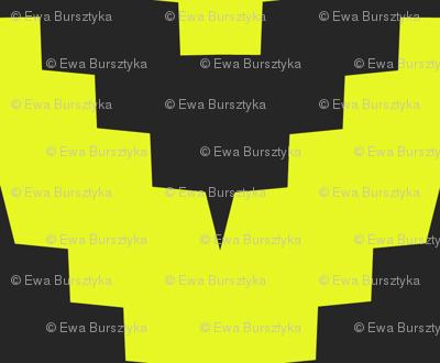 chevron black and yellow