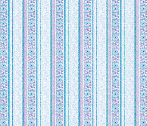 Flower Squares_Stripes