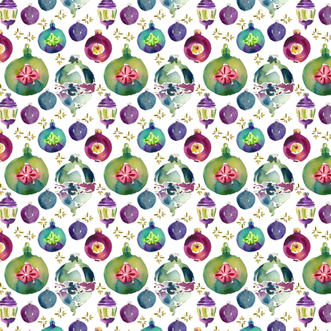cestlaviv_very vintage ornaments fabric by cest_la_viv on Spoonflower - custom fabric