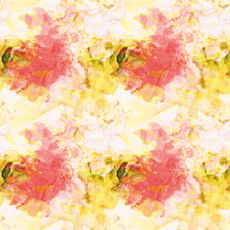Pomegranate Pastel 2 fabric by animotaxis on Spoonflower - custom fabric