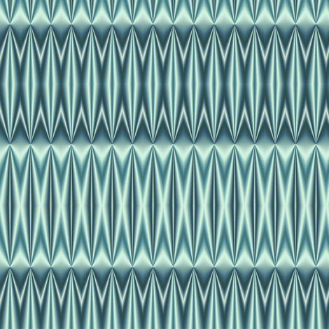 Ruching  -aqua fabric by fireflower on Spoonflower - custom fabric