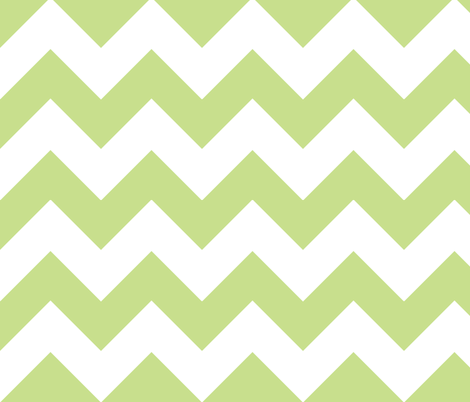 chevron grass fabric by christiem on Spoonflower - custom fabric