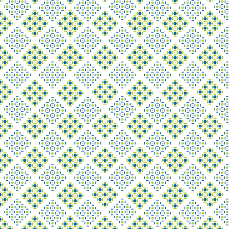 Small_Diamonds fabric by fridabarlow on Spoonflower - custom fabric