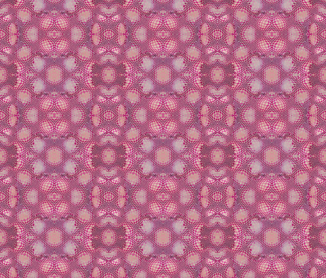 Op Squared Pinks fabric by helenklebesadel on Spoonflower - custom fabric