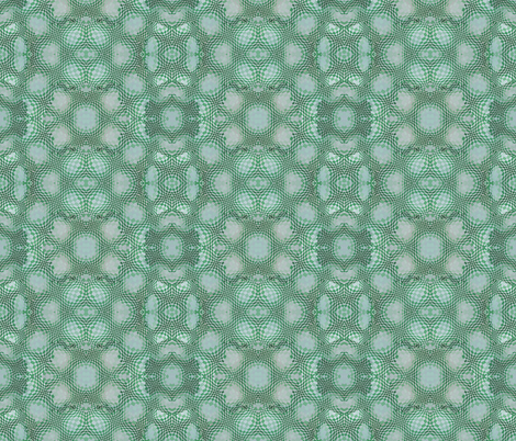 Op Squared Green fabric by helenklebesadel on Spoonflower - custom fabric