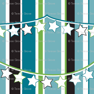 Bunting Stripes