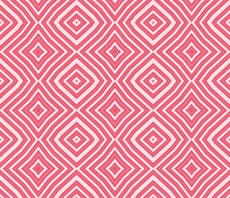 PINK DIAMOND STRIPES fabric by bluevelvet on Spoonflower - custom fabric
