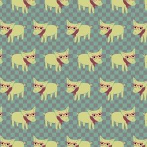 Hipster Piglet - Smaller