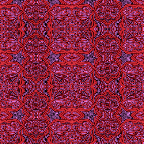 Party Time in Marrakech fabric by edsel2084 on Spoonflower - custom fabric