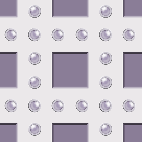 studded grid fabric by keweenawchris on Spoonflower - custom fabric