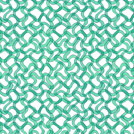 blue-green spirulina fabric by weavingmajor on Spoonflower - custom fabric