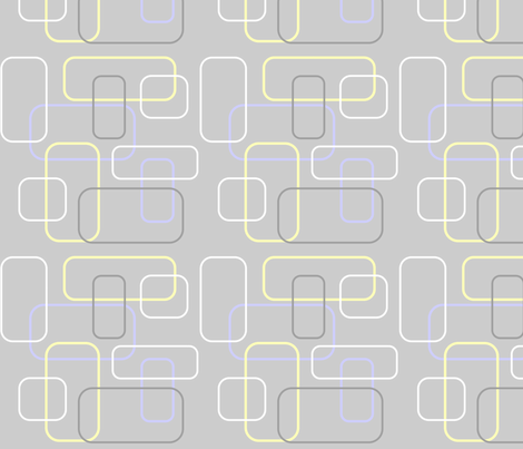 Gray Mod fabric by stickelberry on Spoonflower - custom fabric