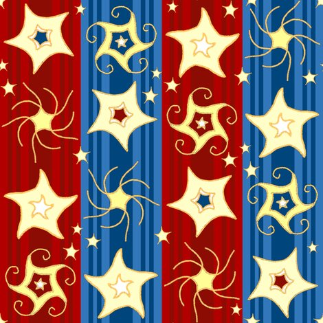 Rembroidered_swirling_and_twirling_stars_on_stripes_red_blue2c_shop_preview