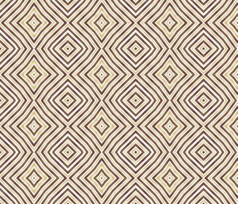 BROWN DIAMONDS fabric by bluevelvet on Spoonflower - custom fabric