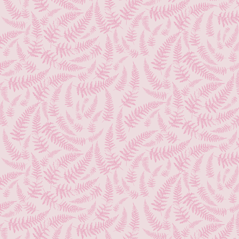 bracken_pale_pink fabric by owls on Spoonflower - custom fabric