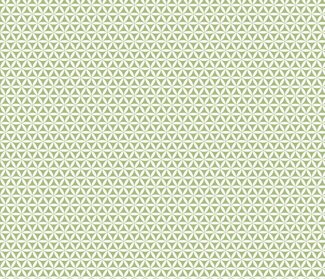 Flower of Life, Green/White simplicity fabric by andrea11 on Spoonflower - custom fabric