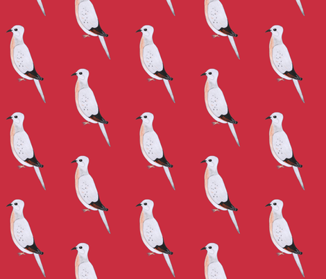 passenger pigeon fabric by magneetje on Spoonflower - custom fabric