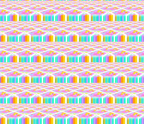Rainbow Factory fabric by anniedeb on Spoonflower - custom fabric