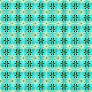 Mosaic  aqua