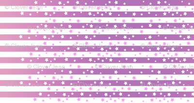 Purple Stars and Stripes