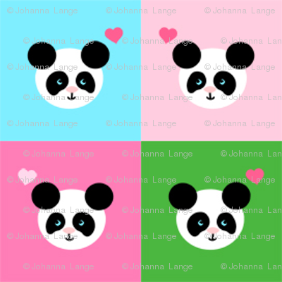 Panda Love Layed Back Mix Small