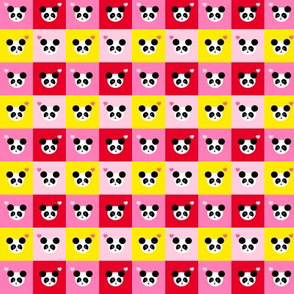 Panda Love Bright Mix Small