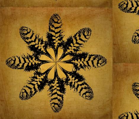 featherflower fabric by kati_falk_designs on Spoonflower - custom fabric