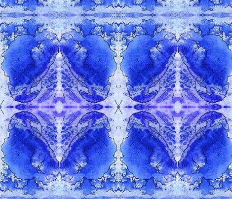 watercolorbird fabric by kati_falk_designs on Spoonflower - custom fabric