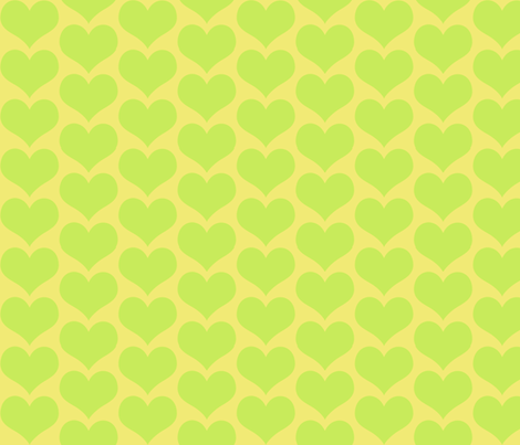 limeheart fabric by ct3bowties on Spoonflower - custom fabric