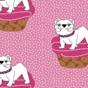 Bulldog Pupcakes