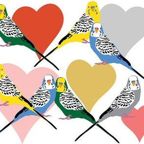 I Heart Budgies - Multi