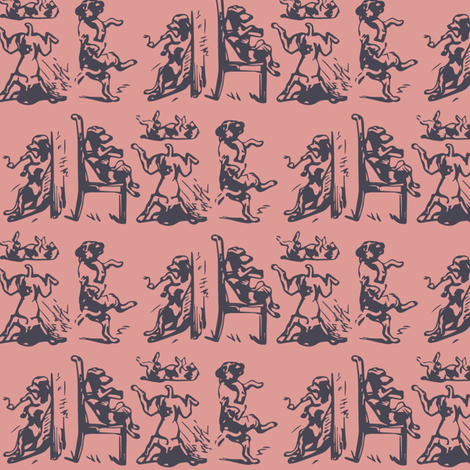 500 Dog Days of Summer fabric by alysnpunderland on Spoonflower - custom fabric