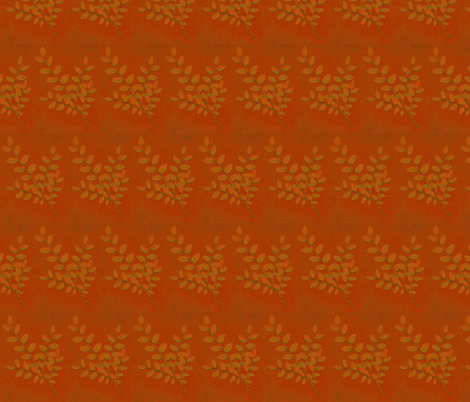 leaf_13g_red fabric by benrob on Spoonflower - custom fabric