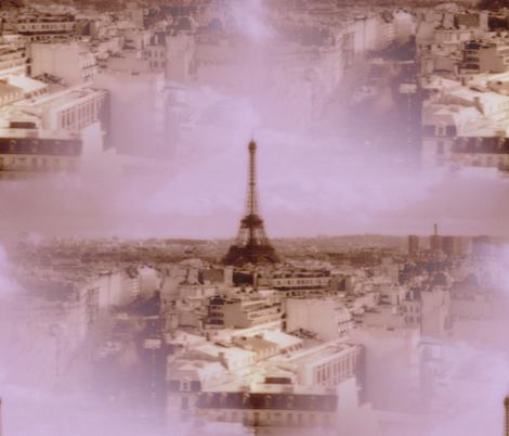 Toujours Paris! fabric by peacoquettedesigns on Spoonflower - custom fabric