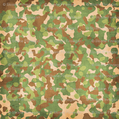Camouflage Military army fabric